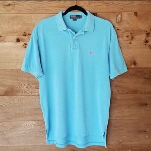 POLO BY RALPH LAUREN MENS LARGE SOFT TOUCH POLO